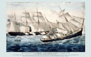 U. S. Sloop of War - Kearsarge